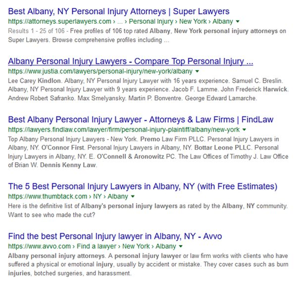 ample serps